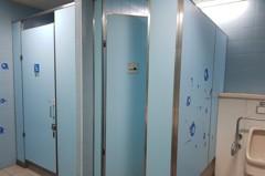 男廁沒坐式馬桶 捷運南港展覽館站不方便