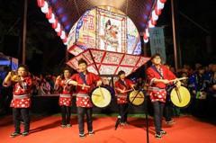 中市雙主燈日本睡魔花燈 公共空間展出