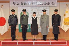日本陸上自衛隊換制服 特別介紹孕婦裝