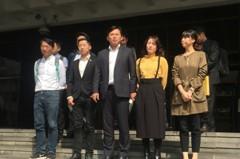時力反勞基法占凱道遭送辦 黃國昌:無怨無悔