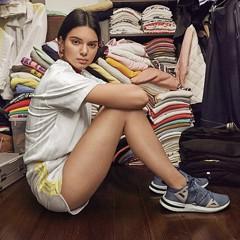 千金名模就是狂!坎達爾珍娜為Adidas曝光賣場般「私人大衣櫥」