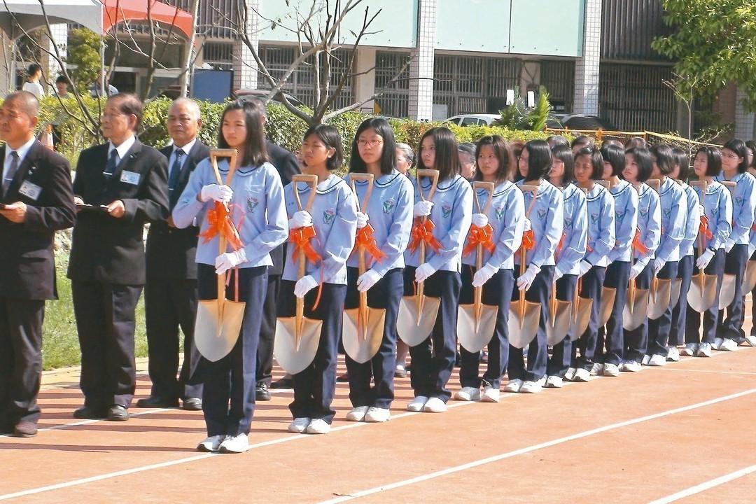 慈濟援建 造橋、後龍國中新校舍動土