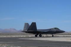 韓美聯合軍演 F-22戰機上陣
