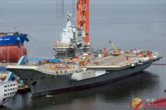 首艘大陸國產航空母艦 將於本月渤海海試