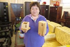 檜木製品只要300元!藏金閣周末二手家具拍賣