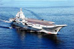 來了!遼寧號與另六艘中共艦艇 正在台灣東方