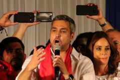 巴拉圭大選官方結果 執政黨候選人當選總統