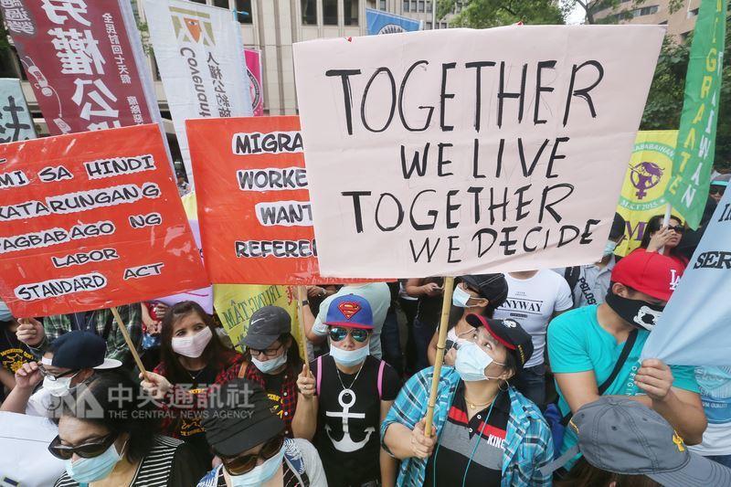 勞基法影響大 移工團體盼有公投權
