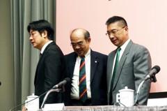 政院記者會後被問是否下台 吳茂昆:今天不講