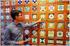 鮮豔多樣!花磚博物館 喚起台灣建築裝飾記憶