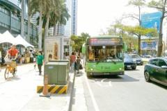 慢車道分流 台灣大道4線公車將調整行駛