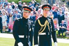 遵王室傳統 哈利王子軍裝完婚