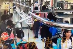 影╱北捷車廂驚見酒醉露鳥男 乘客嚇到報警
