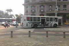 高雄公車撞傷行人 路口交通大打結