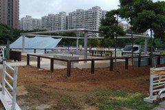林口運動公園沙坑改善 大人小孩都滿意