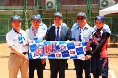 壘球/企業捐涼感巾 為中華女壘隊加油打氣