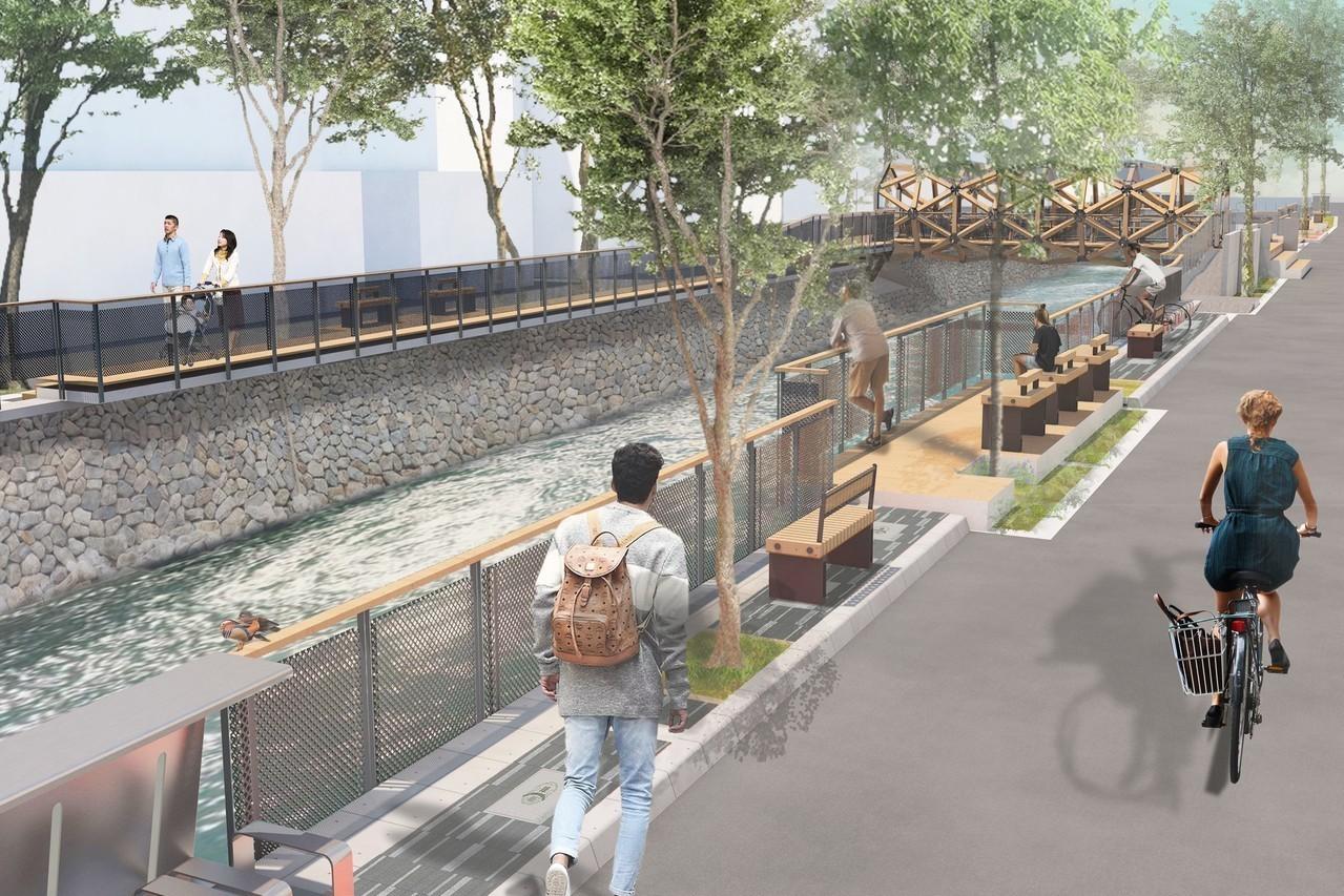 台中綠川整治 第2期年底完工