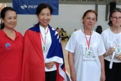 嘉縣府太極拳女選手歐洲國際賽奪冠 披國旗領獎感動人