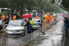 到北京來看海 暴雨傳土石流災情
