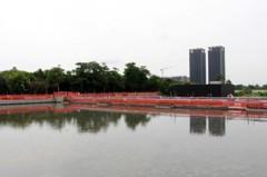 減少後勁溪3成汙水 青埔水質淨化場 預計9月完工