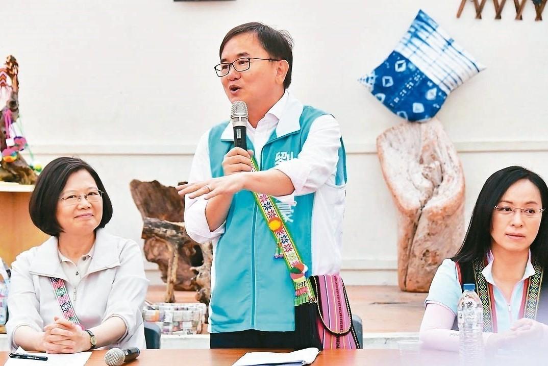 劉櫂豪構築台東夢 蔡英文要一起參加