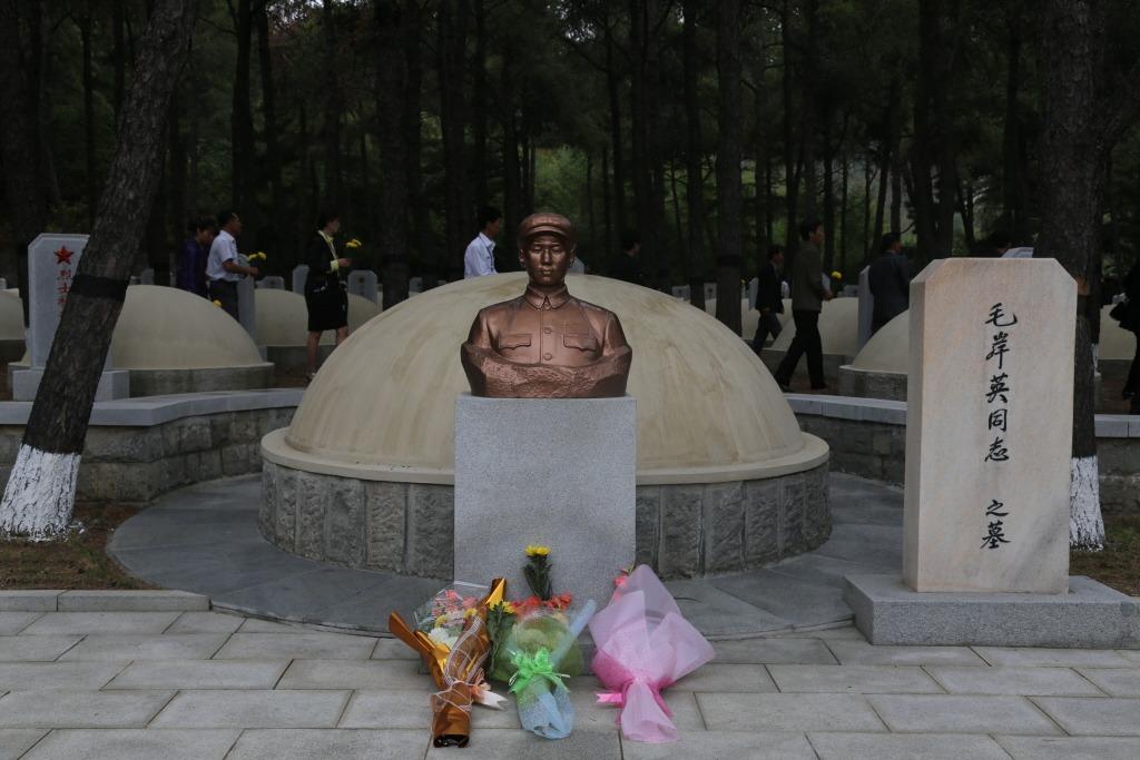 韓戰停戰簽署日 金正恩憑吊毛澤東長子