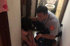 產後憂鬱及經濟壓力企圖燒炭 員警破門救人