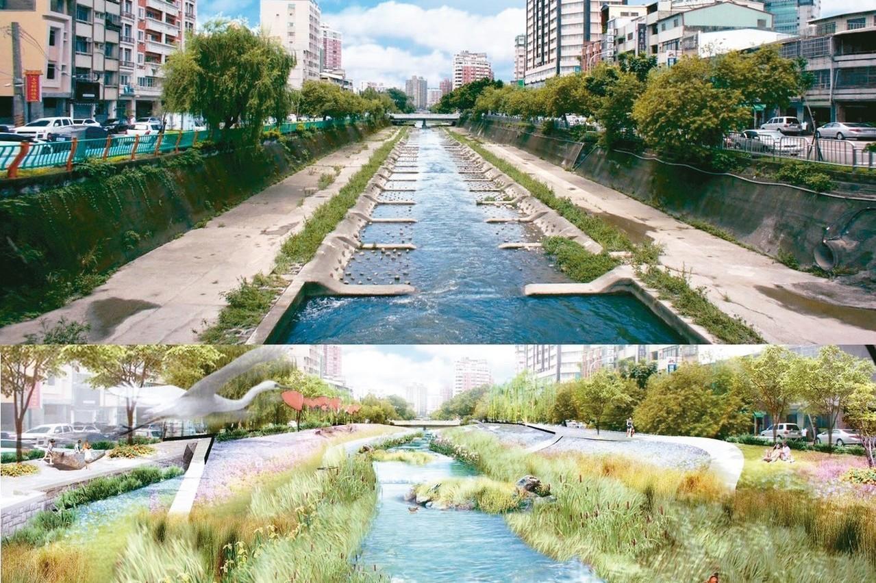 拆水泥河道 柳川二期打造「新荒野」
