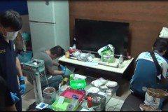 淡水警方跨區至士林 破獲專賣酒店毒品分裝廠