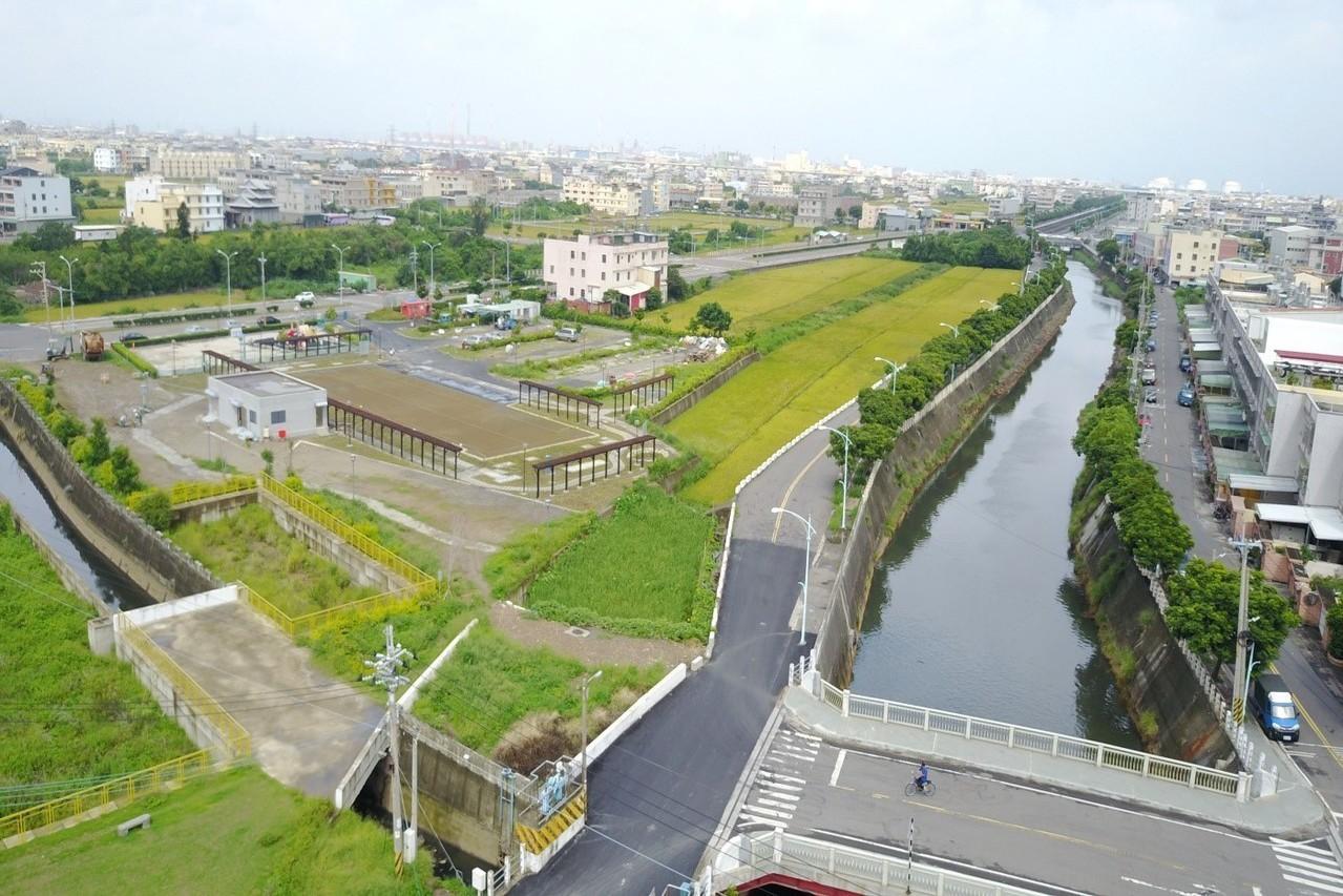 台中海線首座水質淨化場啟用 日處理1萬噸汙水