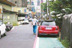標線人行道屢見違停 警加強取締