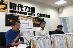 行政院假新聞數字算錯 黃國昌批「荒謬」