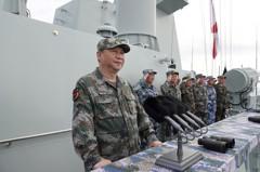 中國控制南海 南沙人工島近完工