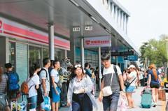 連假湧人潮 小琉球2天擠進2萬人