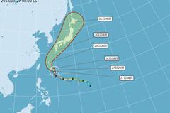 今年台灣僅2個颱風發警報 恐為歷年最少