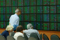 台股10月來跌287點 市值縮水8628億元