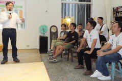 爭取青年選票 劉櫂豪:籌設1億元新創基金幫年輕人創業