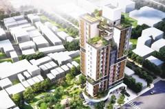 垂直綠化、共居設計…來看台中共好社宅展
