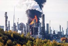 加拿大最大煉油廠爆炸 火勢已控制無重大傷亡