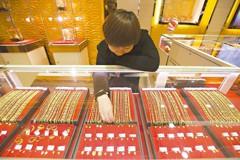 大陸民眾愛黃金 去年消費1,089噸稱冠全球