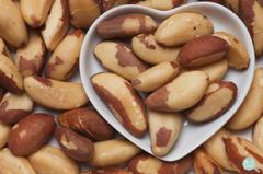巴西堅果為什麼能稱超級食物?1顆的硒含量就比牡蠣高22倍!