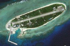 美艦泊太平島挑釁中共 國防部堅持人道救援將考量