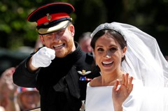 梅根難搞?結婚頭冠讓哈利遭女王告誡別寵壞