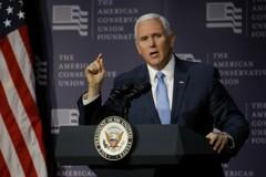 美國副總統潘斯出訪4國 加強美在印太主導權
