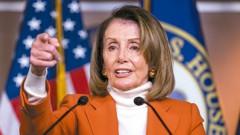 16民主黨眾議員反對 波洛西議長之路添變