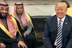 川普聲援沙國王儲 強調美國利益優先