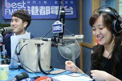 韓冰客串電台DJ播林夕「紅豆」 稱選舉是修煉