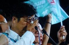 陳其邁演講哭了 「用選票證明韓流會過去溫暖會來的」