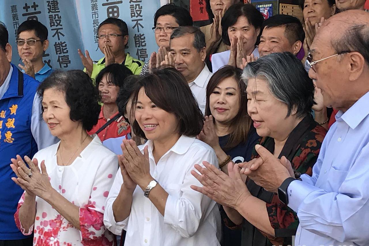 競選總部吉時謝神 黃敏惠:接下來努力拚經濟