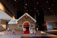 迎接耶誕節!台南大員皇冠假日酒店打造5坪大薑餅屋